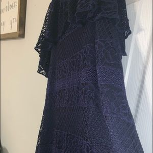 Charlotte Russe Dresses - 💙SMOKIN Lace Off-the-shoulder Dress